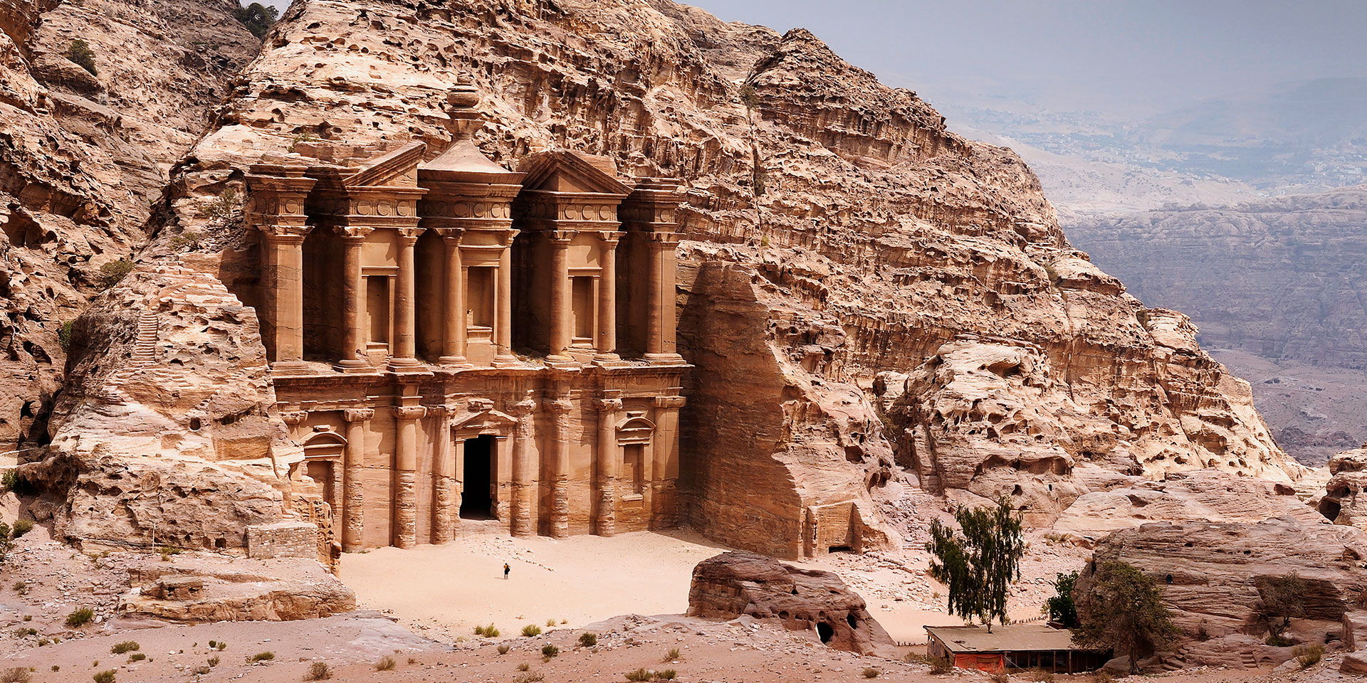 Ancient Petra Site